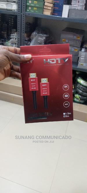 Hdmi 4k Cable 3m | Accessories & Supplies for Electronics for sale in Lagos State, Ikeja
