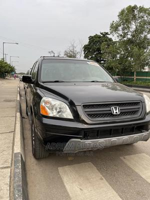 Honda Pilot 2005 EX 4x4 (3.5L 6cyl 5A) Black | Cars for sale in Lagos State, Ogba