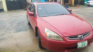 Honda Accord 2003 2.4 Automatic Red | Cars for sale in Lagos State, Kosofe