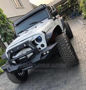 Jeep Wrangler 2016 Sahara 4x4 White   Cars for sale in Lagos State, Surulere