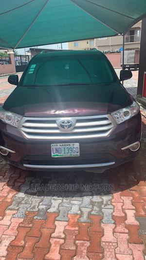 Toyota Highlander 2008 Limited Purple   Cars for sale in Lagos State, Ajah