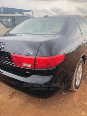 Honda Accord 2005 Sedan EX Automatic Black | Cars for sale in Ekiti State, Ado Ekiti