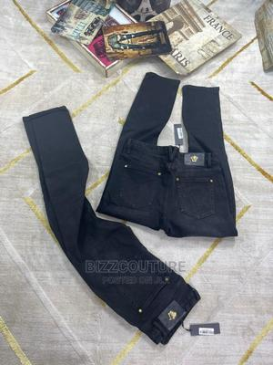 High Quality VERSACE Black Jeans for Men's | Clothing for sale in Abuja (FCT) State, Asokoro