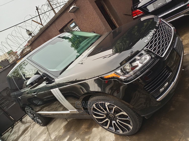 Land Rover Range Rover Vogue 2016 Black