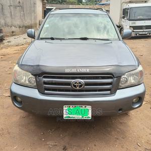 Toyota Highlander 2004 V6 FWD Gray | Cars for sale in Lagos State, Lekki