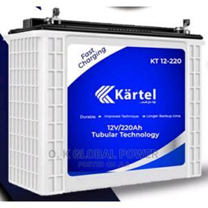Kartel 220ah/12v Tubular Battery | Solar Energy for sale in Lagos State, Ikeja