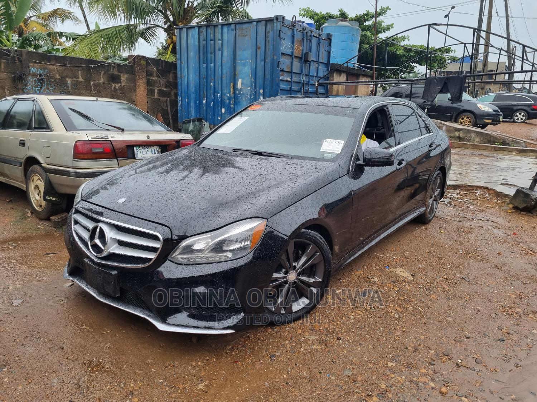 Mercedes-Benz E350 2014 Black | Cars for sale in Ipaja, Lagos State, Nigeria