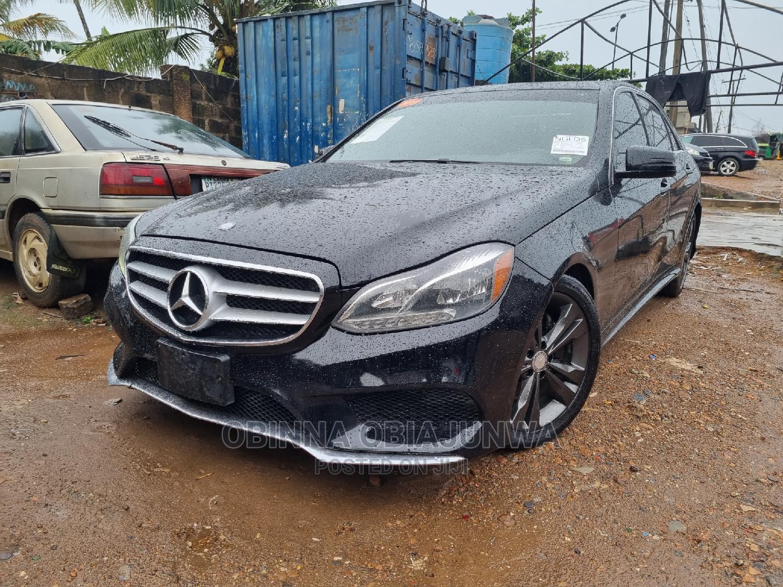 Mercedes-Benz E350 2014 Black