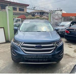 Ford Edge 2019 Titanium AWD Blue | Cars for sale in Lagos State, Agege