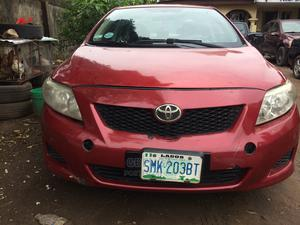 Toyota Corolla 2008 Red | Cars for sale in Lagos State, Abule Egba