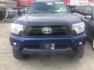 Toyota Tacoma 2016 4dr Double Cab Blue | Cars for sale in Lagos State, Ajah