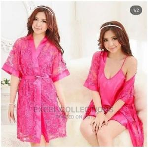 Night Wear Gown and Inner - Pink | Clothing for sale in Lagos State, Surulere