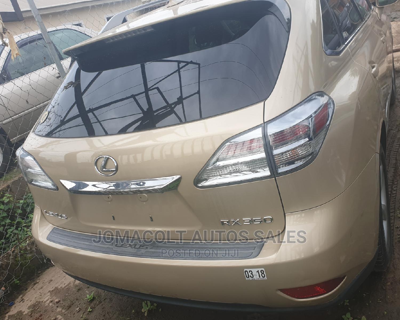 Lexus RX 2010 350 Gold   Cars for sale in Ibadan, Oyo State, Nigeria