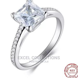 Sterling Silver 925 Beautiful Zirconia Engagement Ring   Wedding Wear & Accessories for sale in Lagos State, Surulere