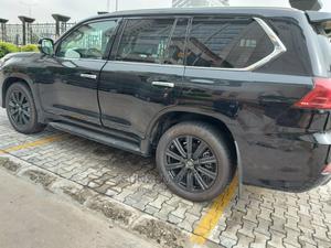 Lexus LX 2021 570 AWD Black   Cars for sale in Lagos State, Lekki