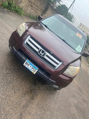 Honda Pilot 2007 EX 4x4 (3.5L 6cyl 5A) Red | Cars for sale in Lagos State, Agege