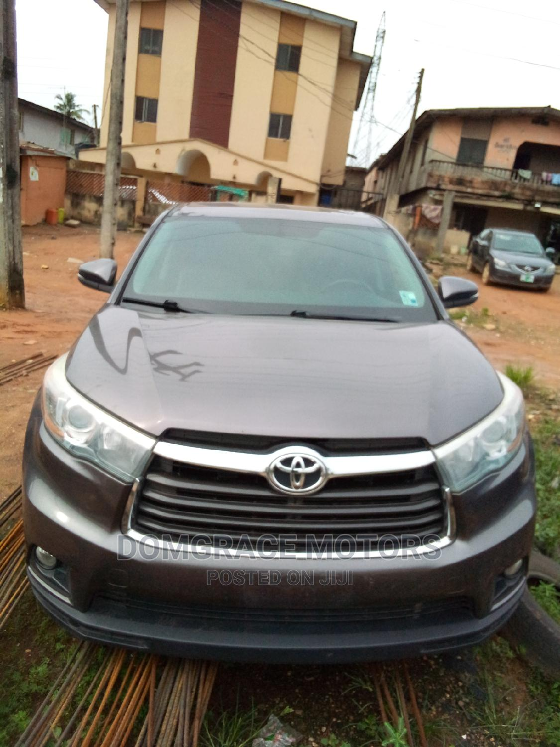 Toyota Highlander 2015 Gray   Cars for sale in Maryland, Lagos State, Nigeria