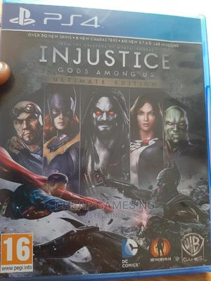 Injustice Gods Among Us Ultimate Edition PS4 | Video Games for sale in Lagos State, Agege