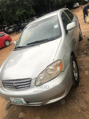 Toyota Corolla 2003 Sedan Automatic Silver | Cars for sale in Abuja (FCT) State, Gaduwa