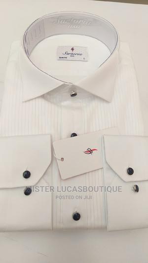 Sartoria Plain White Shirt | Clothing for sale in Lagos State, Lagos Island (Eko)
