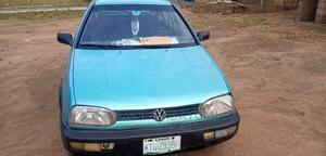 Volkswagen Golf 1999 2.0 4Motion Green   Cars for sale in Oyo State, Eruwa