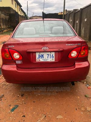 Toyota Corolla 2003 Red | Cars for sale in Lagos State, Ipaja