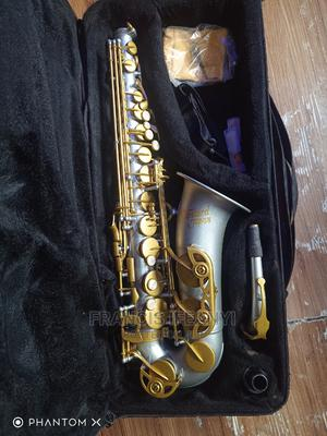 Rebranded Ash and Gold Standard Japan Alto Saxophone   Musical Instruments & Gear for sale in Lagos State, Agboyi/Ketu