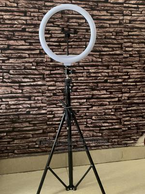 Ringlight 12 Inches With Shutter,Tripod Stand Phone Holder | Stage Lighting & Effects for sale in Abuja (FCT) State, Lugbe District