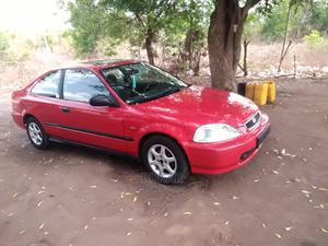 Honda Civic 1999 EX 2dr Coupe Red   Cars for sale in Abuja (FCT) State, Wuye