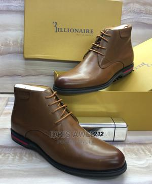 Lovely Men's Ankle Boots Black and Brown Billionaire   Shoes for sale in Lagos State, Lekki