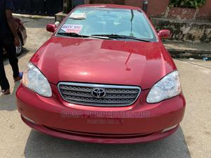 Toyota Corolla 2007 Red   Cars for sale in Lagos State, Ogudu