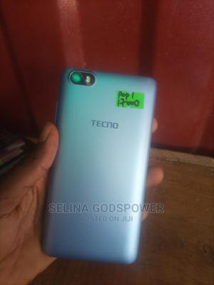 Tecno Pop 1 8 GB Blue | Mobile Phones for sale in Lagos State, Ikorodu