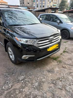 Toyota Highlander 2012 Black   Cars for sale in Lagos State, Yaba