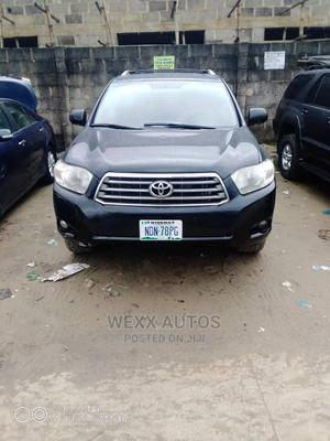 Toyota Highlander 2009 Limited 4x4 Black   Cars for sale in Rivers State, Port-Harcourt