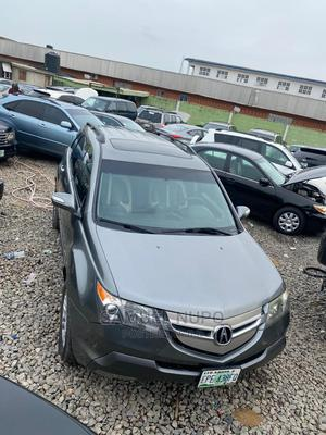 Acura MDX 2008 SUV 4dr AWD (3.7 6cyl 5A) Gray | Cars for sale in Lagos State, Ifako-Ijaiye