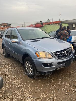 Mercedes-Benz M Class 2007 ML 350 4Matic Blue | Cars for sale in Lagos State, Ifako-Ijaiye
