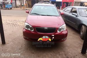 Toyota Corolla 2007 Red | Cars for sale in Delta State, Aniocha North