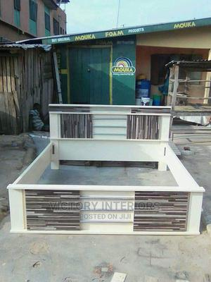 6 By 6 Quality Bed Frame For Sale | Furniture for sale in Lagos State, Ikeja