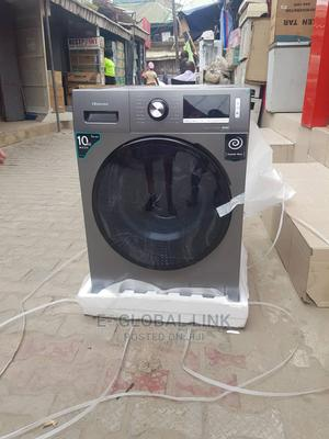Hisense 10kg Inverter Washing Machine With Dryer   Home Appliances for sale in Lagos State, Ikeja