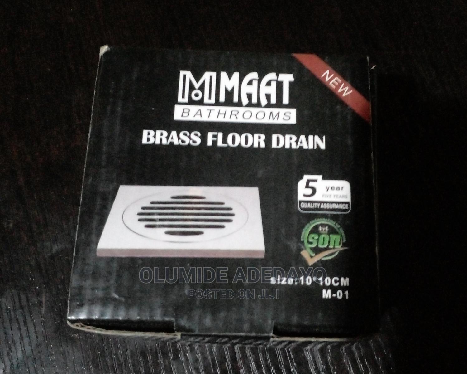 MAAT Brass Floor Drains