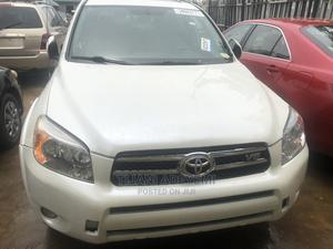 Toyota RAV4 2008 Limited V6 4x4 White   Cars for sale in Lagos State, Ipaja