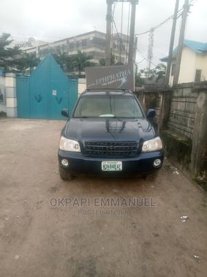 Toyota Highlander 2004 Limited V6 4x4 Blue | Cars for sale in Rivers State, Obio-Akpor
