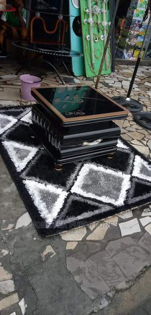 Imported Mini Center Table and Center Rug | Furniture for sale in Rivers State, Port-Harcourt