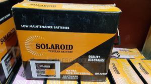 220ah/12v Tubular Battery | Solar Energy for sale in Lagos State, Ojo