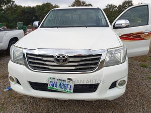 Toyota Hilux 2012 2.5 D-4d 4X4 SRX White   Cars for sale in Abuja (FCT) State, Kubwa