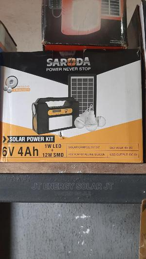 Solar Power Kit With Extra 3 Bulbs   Solar Energy for sale in Lagos State, Ojo