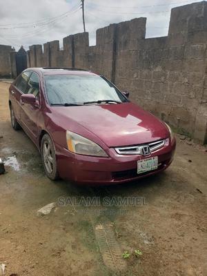 Honda Accord 2005 Sedan EX Automatic Red | Cars for sale in Oyo State, Ibadan