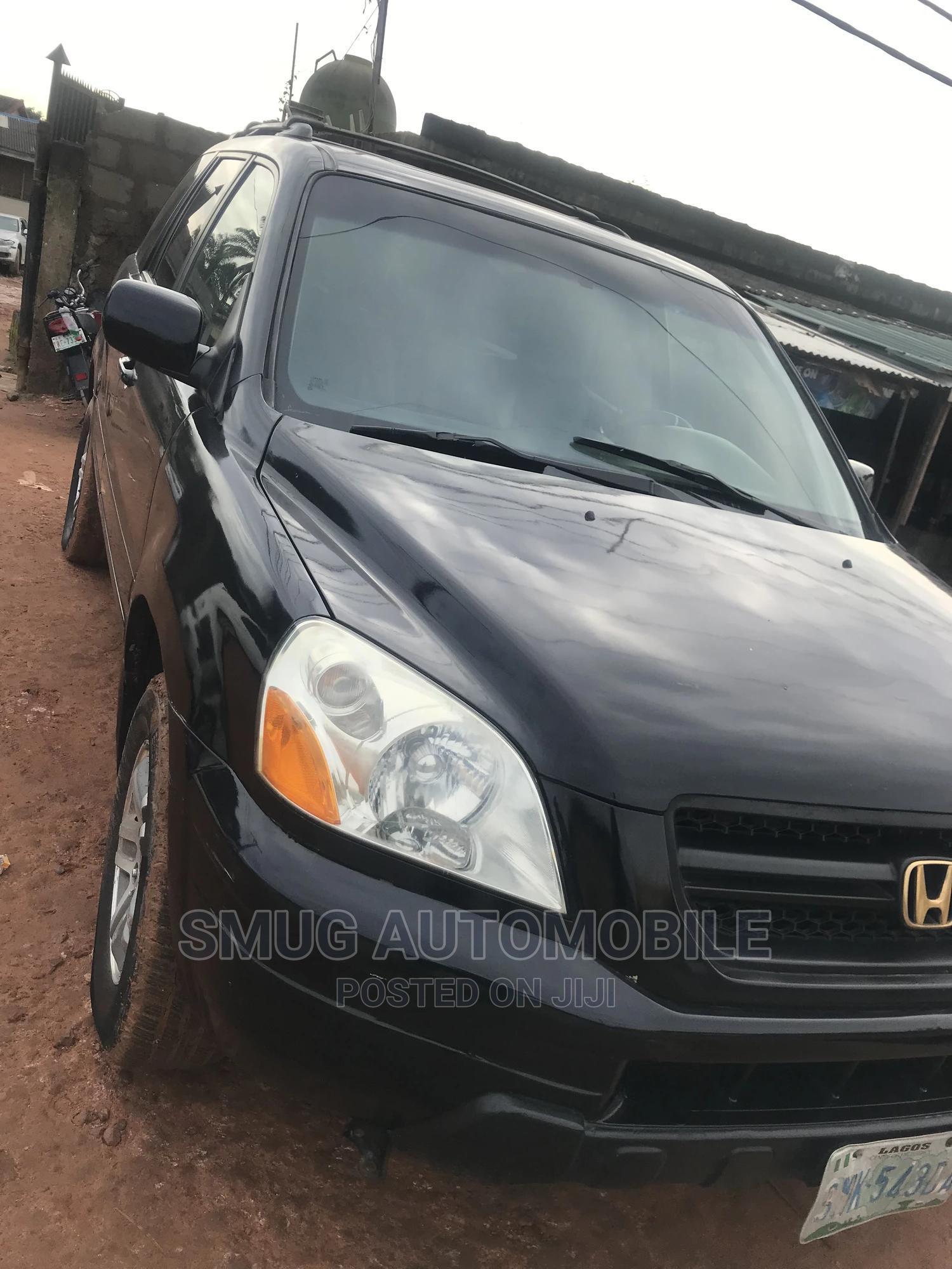 Honda Pilot 2004 Black   Cars for sale in Egbe Idimu, Lagos State, Nigeria