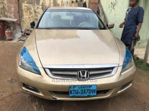 Honda Accord 2004 2.4 Type S Gold   Cars for sale in Lagos State, Ikeja