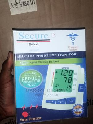 Secure Medical Blood Pressure Monitor | Medical Supplies & Equipment for sale in Lagos State, Ojo